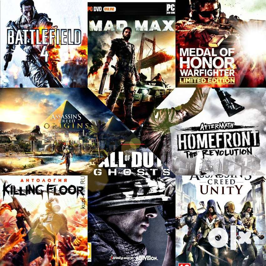 All Types of Pc Games Available with After Services Gurranty 0