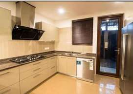 3bhk semi furnished flat available for rent in saket