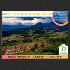 Tanah Kavling Bogor yang cocok untuk hari tua, free Gazebo Nuansa Alam