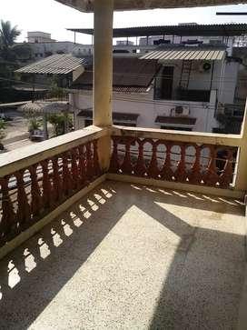 1 RK with wide balcony flat on rent in  Silvassa.Umerkoi road.