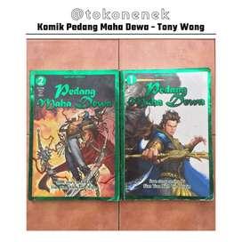Komik Pedang Maha Dewa karya Tony Wong