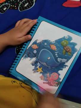 MAGIC COLORING WATER BOOK