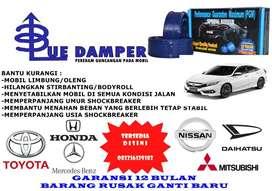 Bahan Blue Damper adalah Karet alami, menghasilkan damper awet & kuat