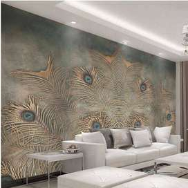 Wallpaper, wallpicture,wooden floors,blinds and all type of interiors