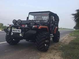Opne jeep modified