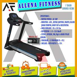 Alat Fitness Treadmill Elektrik TL-29 AC Motor 3HP Murah