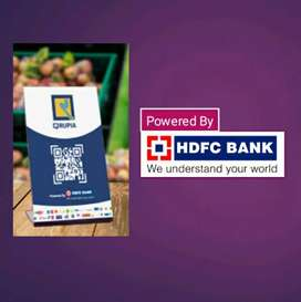 Qrupia. HDFC BANK. need district vandor. all assam. only 15000/
