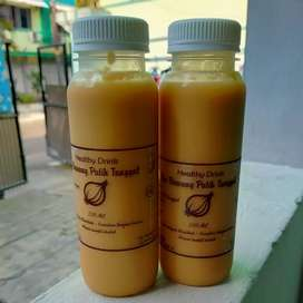 Minum kesehatan bawang putih