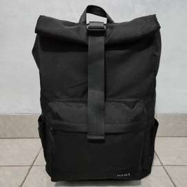 CORE Tas Ransel / Backpack Rolltop by NAMA No.322 Black