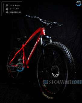 TCH BRAND NEW FAT TYRE BICYCLE WITH 21 GEARS COMBINATION