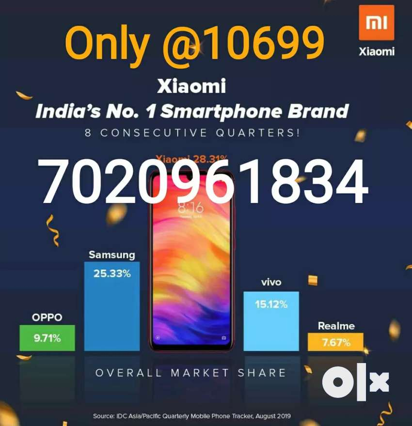 Redmi Note 7 Pro New Box pack only @10799 0