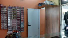 Stock for sale and shop for rent