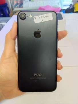 IPHONE 7 128 Gb Black Mate Mulus Garansi TT 6s 64 8 Plus 32 X xr 256