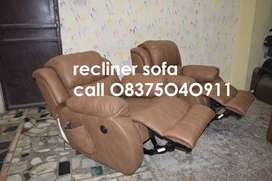 Motorizd and Manaul Recliners, New Recliner Sofa with Cup space arms