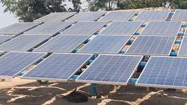 10 KW Solar System for 10 HP Solar Tubewell Pumping