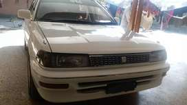 Toyota Corolla 1991 modal EFI Ac & heater active Genuine condition