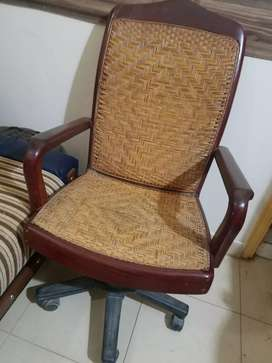 Shesham cane wooden chair