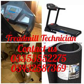 Treadmill belt Available. belt  Replacement and Eligment .Maintenance