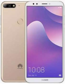 Huawei Y7 Prime 10/10 condition One hand used fresh Golden Color