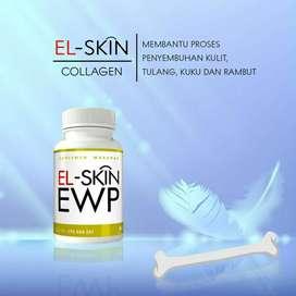 El-skin ewp suplemen kolagen pasangan keluarga