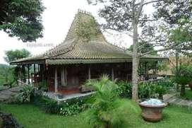Rumah Joglo kayu jati tua dari rumah  kampung jawa