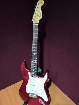 Fender StratHighCopy 50s japan Red Candy Apple