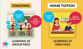 Home tutor is avail able