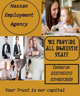 HASSAN EMPLOYMENT AGENCY  MAID PROVIDERS