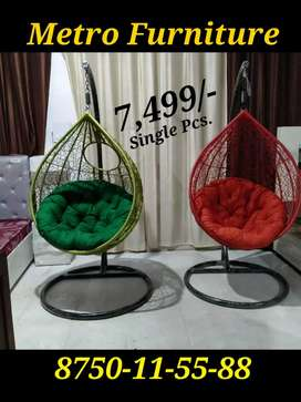 Luxurious Swing chair jhula with heavy rod