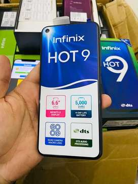 Infinix Hot 9 4Gb 128Gb Box pack New with 1 year Warranty