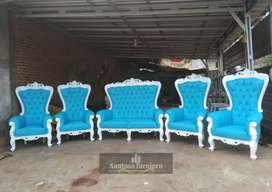 Kursi pelaminan   sofa pernikahan mewah