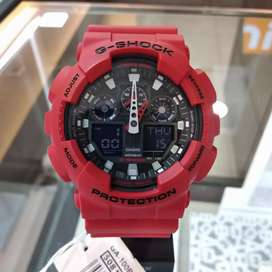 Jam Casio G-Shock GA-100B-4ADR (Kredit Tanpa DP & Tanpa Bunga)