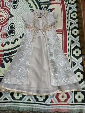 Long 20 number farag with coat Golden colour along with legin