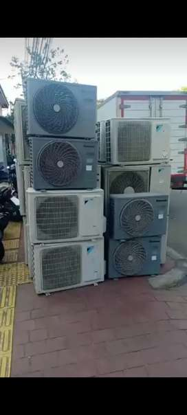 Di jual AC second bergaransi 1 PK panasonic outdoor