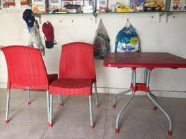 10 chairs &2 tables