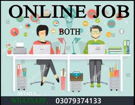 Online job for both student Boys and Girls
