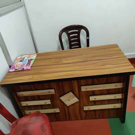 Wooden Office table ( ideal for computer usage)