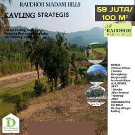 Tanah kavling dijual murah strategis di jln provinsi stock menipis