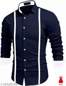 Classic Elegant Men Shirts  Fabric: Polycotton Sleeve Length: Long