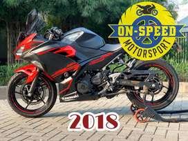 CASH CREDIT jual motor moge kawasaki ninja 250 fi new mdl 2018 SE ABS