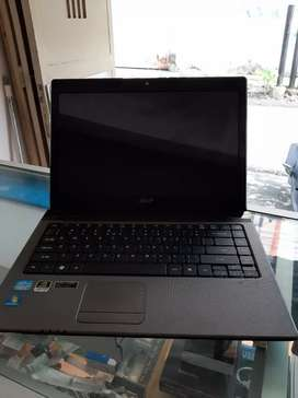 Acer i5 ram 4gb vga up to 2gb muluss