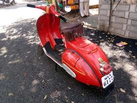 Red colour Priya 150