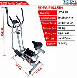 Alat olahraga fitnes MURAH SEKALI Sepeda Matnetic TL 8350