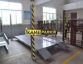 Hidrolik Lift Parkir Mobil 4 Tiang 2,7 Ton (Tinggi 210 cm)