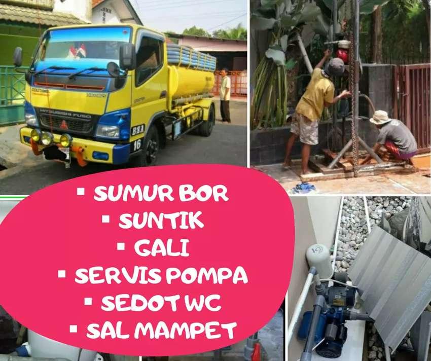 sedot wc saluran mampet suntik sumur bor gali service servis pompa air 0