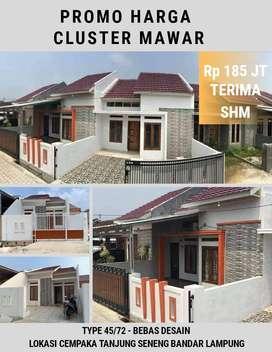 Rumah Komersil murah Promo lokasi tanjung seneng Bandar Lampung