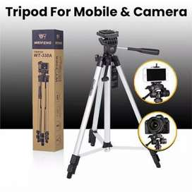 Tripod Stand 330A 5 ft. Max. Size for Mobile & DSLR