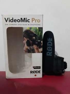 Rode Shotgun Videomic Pro
