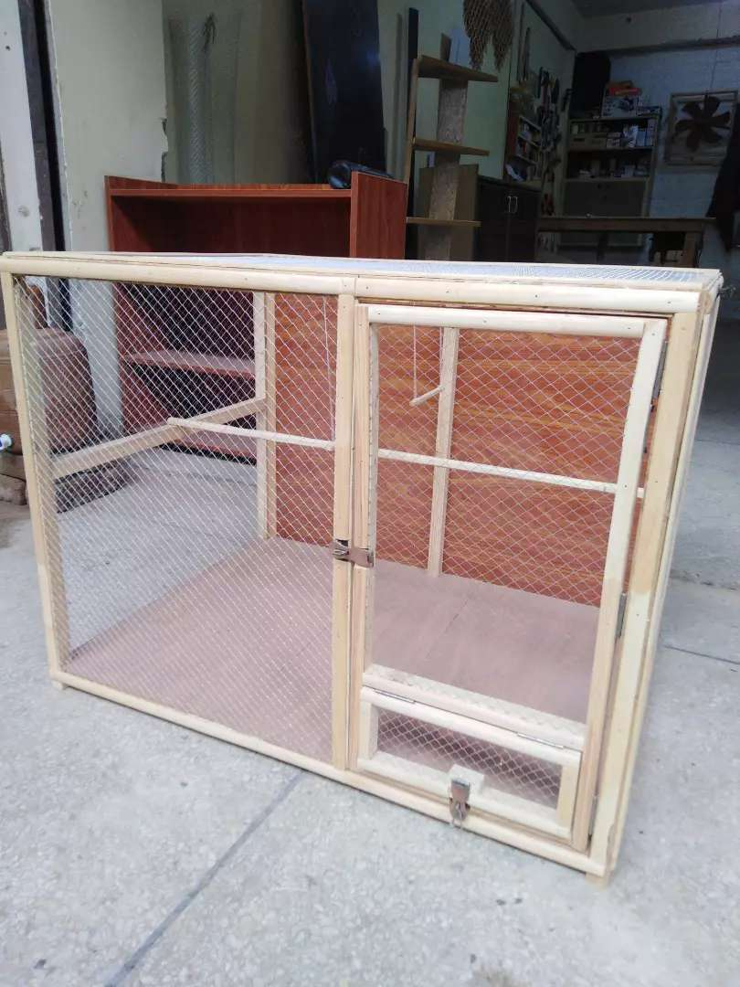 Wooden cage (new)