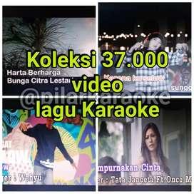 Lagu video Karaoke 37ribu judul murah